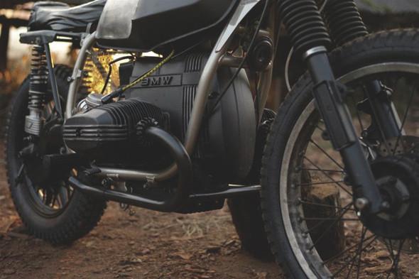 Новый проект испанской мастерской El Solitario —мотоцикл BMW R45. Изображение №6.