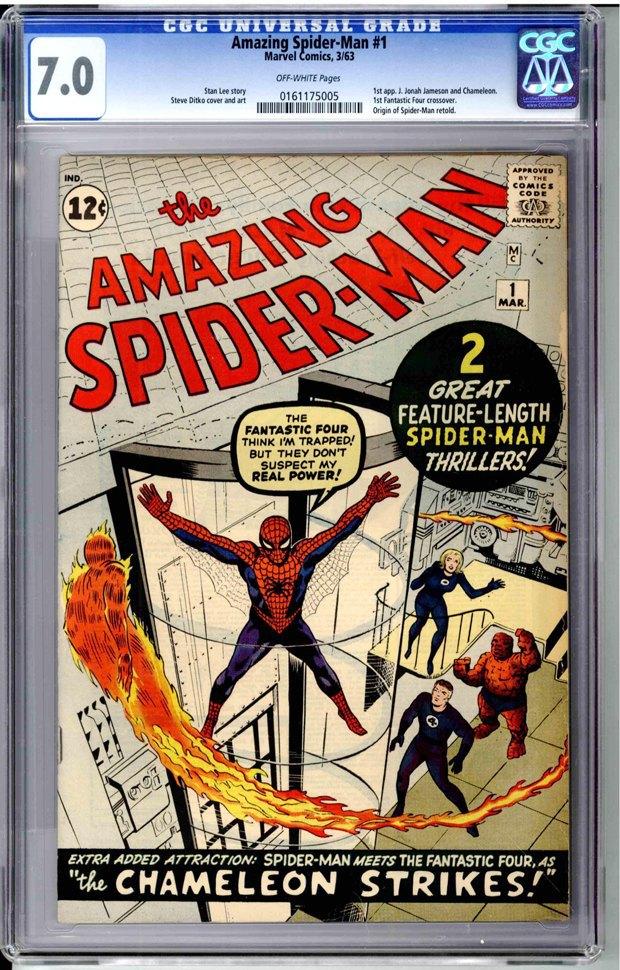 Американец продал первую копию комикса «Удивительный Человек-паук», чтобы оплатить свадьбу дочери. Изображение № 1.