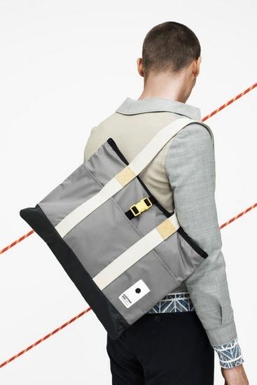 Марки Wood Wood и Eastpak выпустили лукбук совместной коллекции одежды. Изображение № 4.