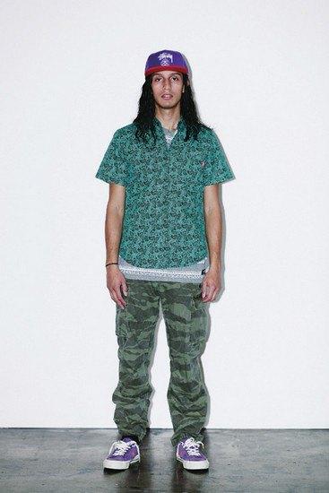 Марка Stussy опубликовала лукбук весенней коллекции одежды. Изображение № 15.