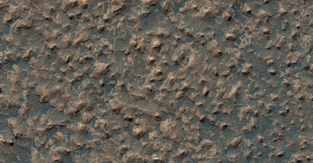 Новые фотографии поверхности Марса, опубликованные агентством NASA. Изображение №7.
