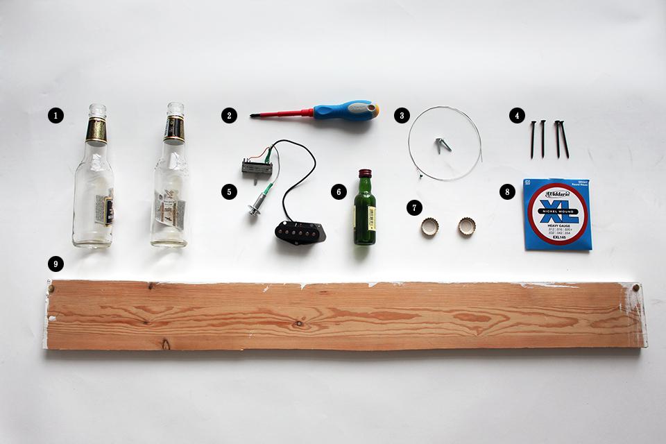 Как изготовить примитивную гитару диддли-бо в домашних условиях. Изображение № 1.