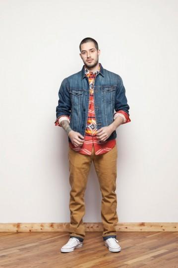 Американская марка 10.Deep выпустила лукбук весенней коллекции одежды. Изображение № 15.