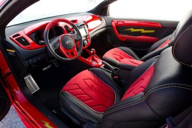 Kia показала пять из восьми «супергеройских» автомобилей. Изображение № 20.