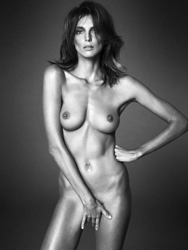 Аня Рубик, Наоми Кэмпбелл и другие известные модели разделись для Interview Magazine. Изображение № 12.