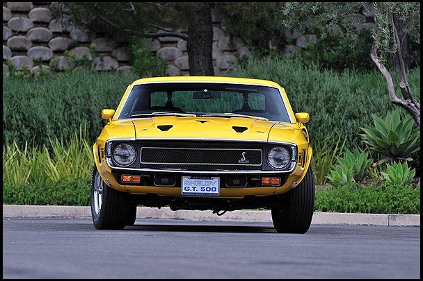 Маслкар Shelby GT500, принадлежавший своему создателю Кэроллу Шелби, выставлен на аукцион. Изображение № 9.