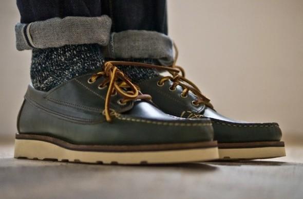 Весенняя коллекция обуви марки Oak Street Bootmakers. Изображение № 4.
