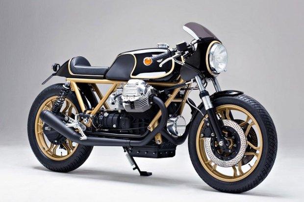 Мастерская Kaffeemaschine собрала каферейсер  на базе Moto Guzzi Le Mans. Изображение № 2.