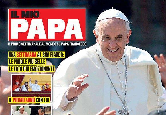 Итальянцы напечатали фанзин, посвященный папе Римскому . Изображение № 1.