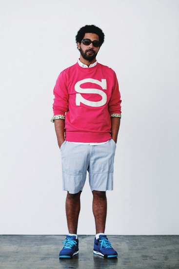 Марка Stussy опубликовала лукбук весенней коллекции одежды. Изображение № 11.