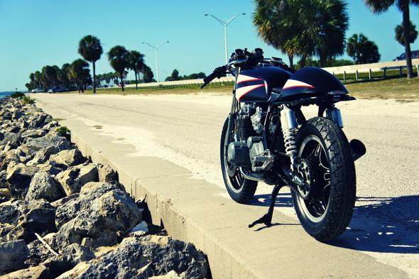 Мотоцикл Honda CB650 мастерской Steel Bent Customs. Изображение № 3.