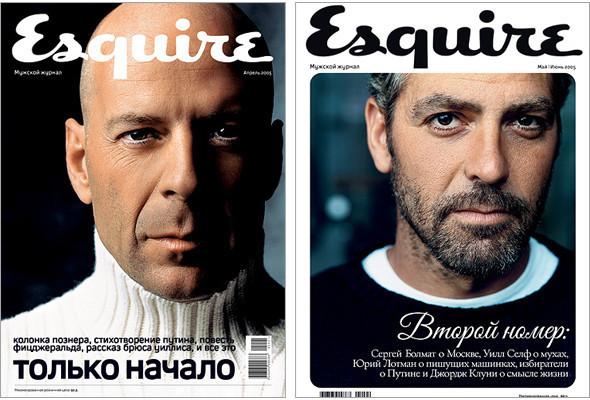 Первые два номера Esquire в России: апрель и май 2005 года.. Изображение № 2.