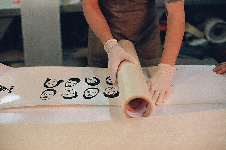 FURFUR х Pepper Customs: Как выглядит процесс создания лонгборда. Изображение № 5.