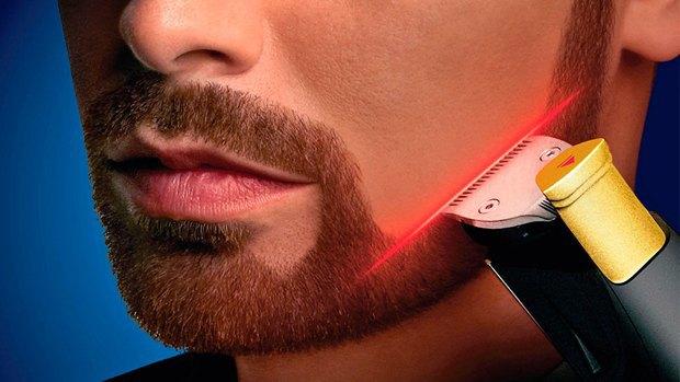 Компания Philips выпустила лазерный триммер для бороды. Изображение № 1.