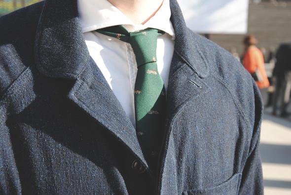 Детали: Репортаж с выставки мужской одежды Pitti Uomo. День первый. Изображение № 47.