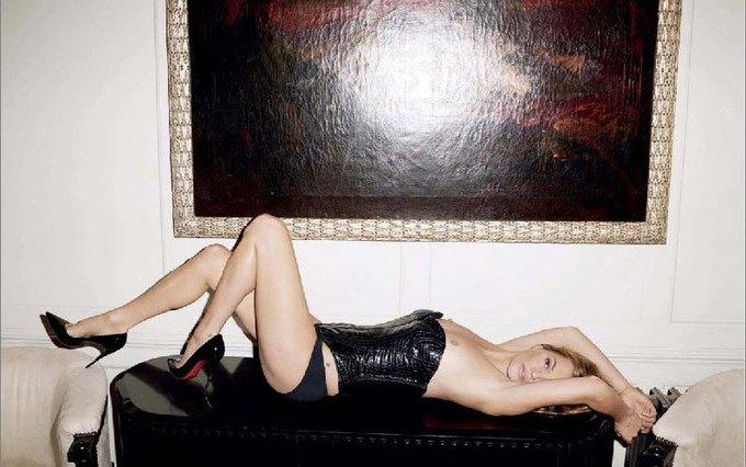 Терри Ричардсон сфотографировал обнаженную Кейт Мосс для журнала Lui Magazine. Изображение № 8.