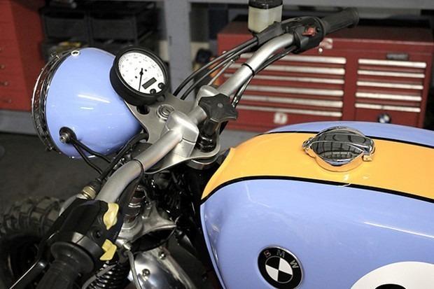 Английская мастерская Kevils Speed Shop выпустила скрэмблер в честь Porsche 917 . Изображение № 2.