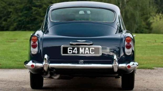 Aston Martin DB5 Пола Маккартни продали на аукционе за полмиллиона долларов . Изображение № 3.