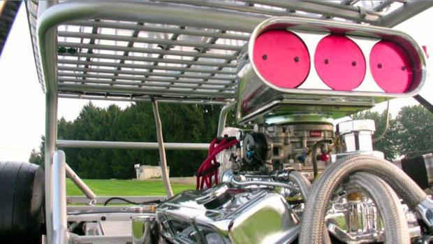 В США  тележку для супермаркета оснастили 290-сильным двигателем. Изображение № 10.