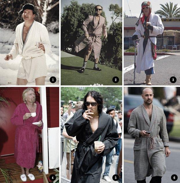 Изумительный плейбой: Как носить халат в публичном месте. Изображение № 4.