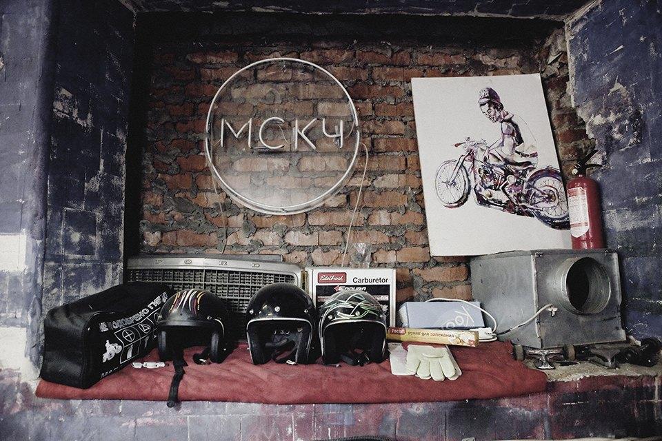 Болгарка, молоток и сварка: Интервью с  Глебом Чёрным, владельцем кастом-ателье мотоциклов . Изображение № 2.