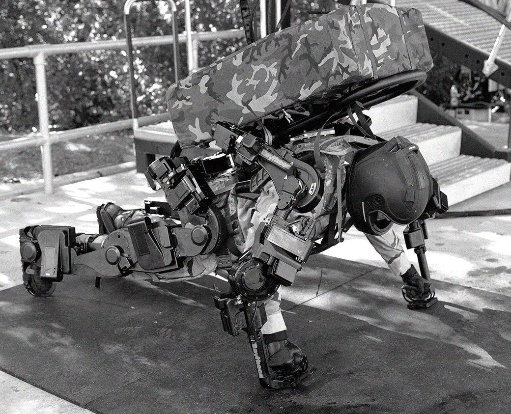 Что собой представляет экзоскелет — костюм «железного человека» будущего. Изображение № 6.