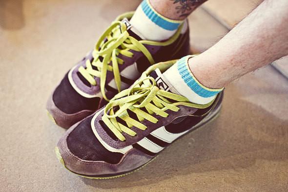 Фоторепортаж: 50 мужских кроссовок на выставке Faces & Laces. Изображение № 14.