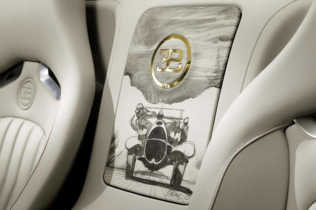 Bugatti представила отделанную золотом спецификацию Veyron Grand Sport Vitesse. Изображение № 6.