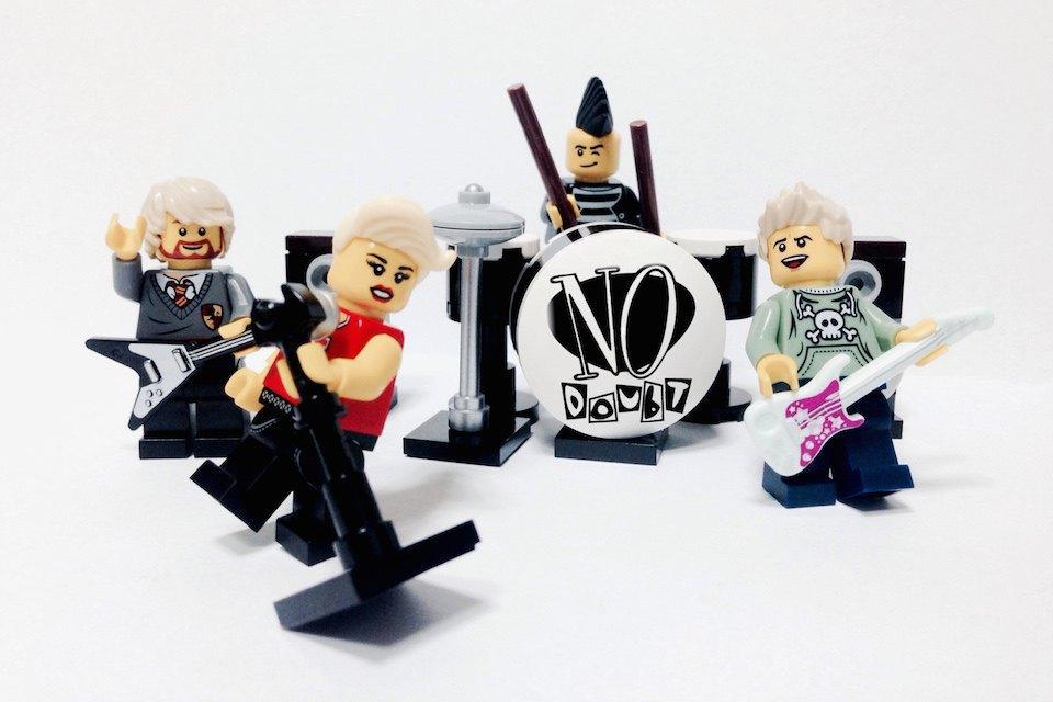 Lego-go: Культовые группы в виде фигурок из конструктора LEGO. Изображение № 9.