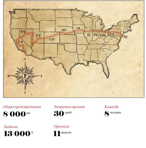 Как я путешествовал по Америке на мотоцикле. Изображение № 2.