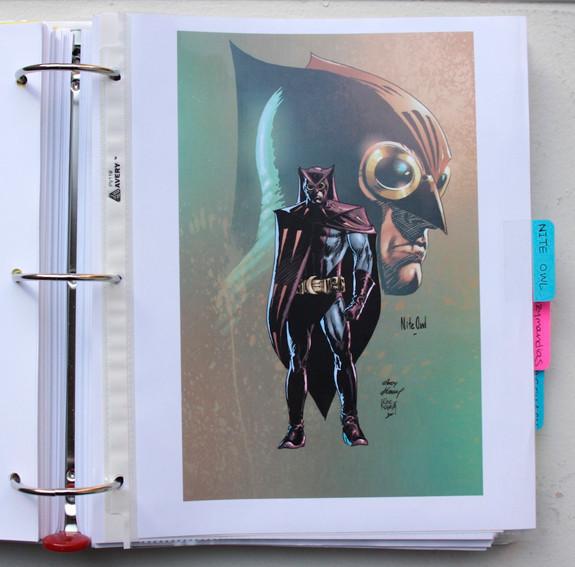В сети появились иллюстрации приквела комикса «Хранители». Изображение № 2.