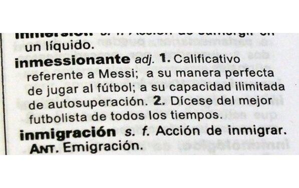 Фамилия футболиста Месси стала прилагательным в испанском языке. Изображение № 3.