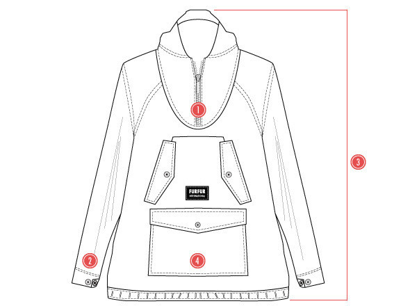Против ветра: Анорак — куртка на весну. Изображение №5.