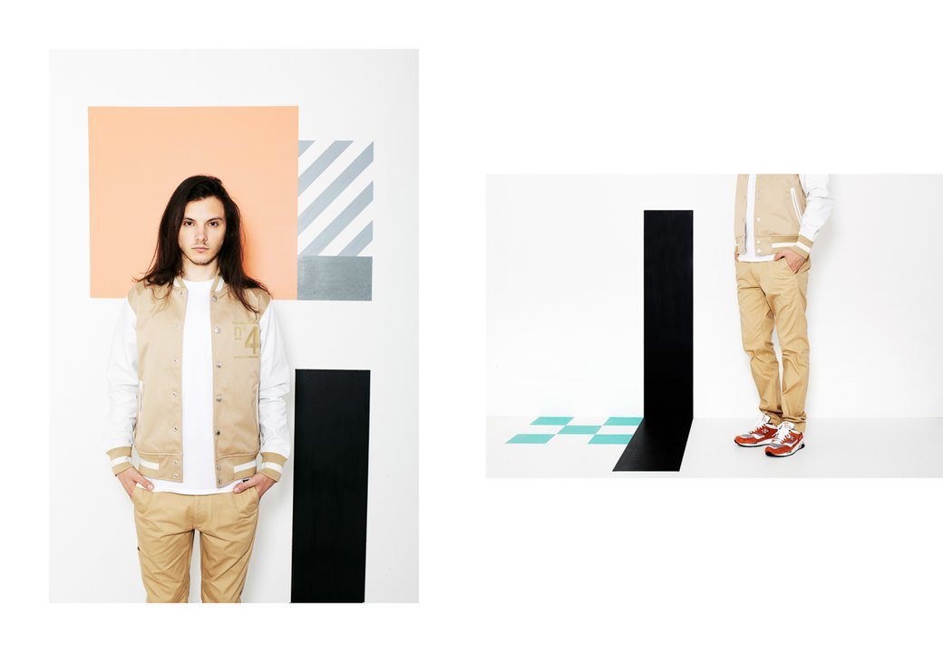 Магазин Kixbox выпустил лукбук весенней коллекции одежды. Изображение № 10.