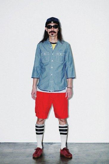 Марка Stussy опубликовала лукбук весенней коллекции одежды. Изображение № 6.