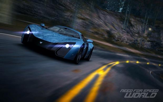 Российский спорткар Marussia B2 появится в игре Need for Speed World. Изображение № 1.