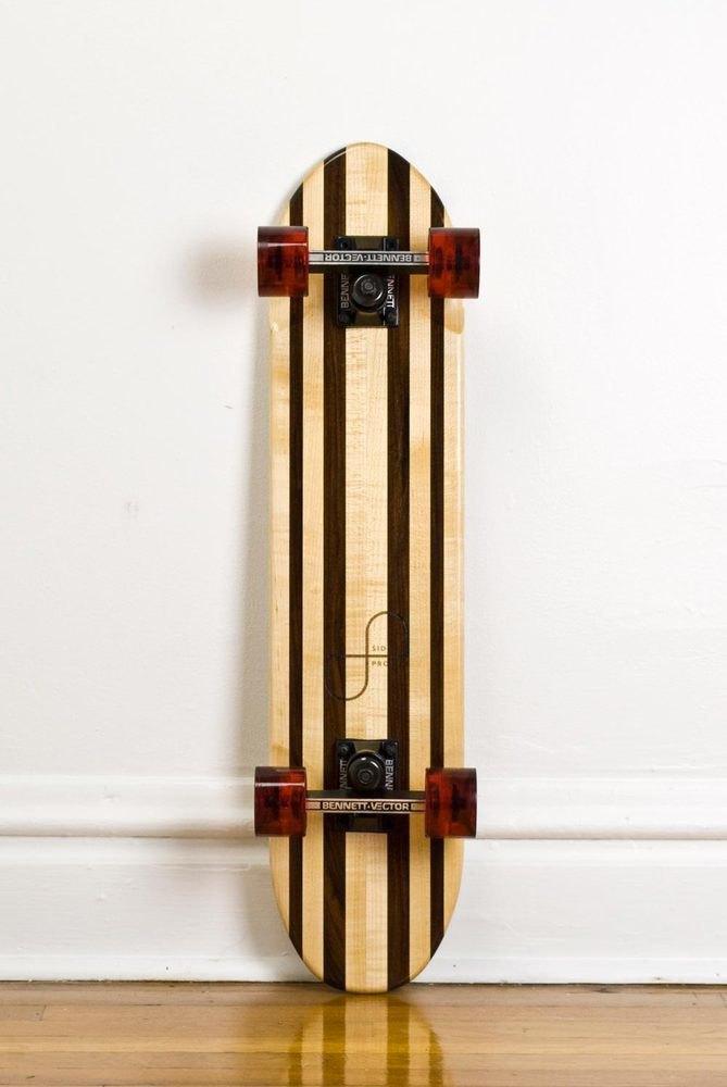 Дизайнер Джейк Эшелман выпустил коллекцию скейтбордов ручной работы. Изображение № 11.