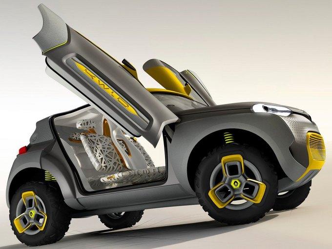 Renault разработали автомобиль с летающим «помощником». Изображение № 5.