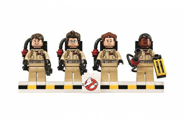Компания LEGO к юбилею фильма «Охотники за привидениями» представила конструктор. Изображение № 2.