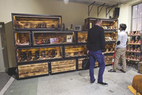 Репортаж с выставки Bread & Butter: Стенды Red Wing, Edwin, Hersсhel и другие. Изображение № 13.