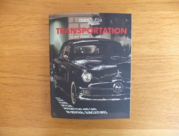 Журнал Men's File выпустил книгу Transportation. Изображение № 1.