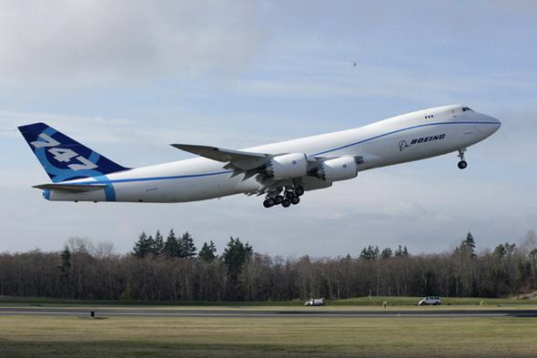 Изображение 1. Американские летчики отправились на новом Boeing за сэндвичами.. Изображение № 1.
