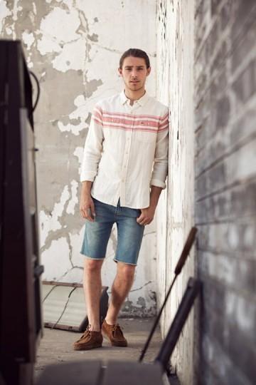 Марка Obey выпустила лукбук весенней коллекции одежды. Изображение № 14.