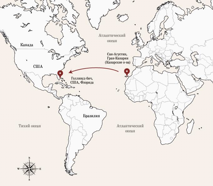Одинокое плавание: 8 путешественников, пересекших Атлантику на весельной лодке. Изображение № 2.