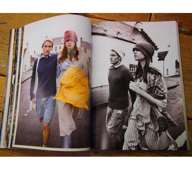 Японская марка Kapital выпустила лукбук весенней коллекции одежды. Изображение № 14.