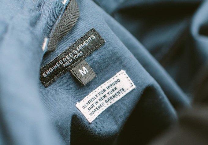 Engineered Garments выпустили коллекцию для персонала ресторана. Изображение № 3.