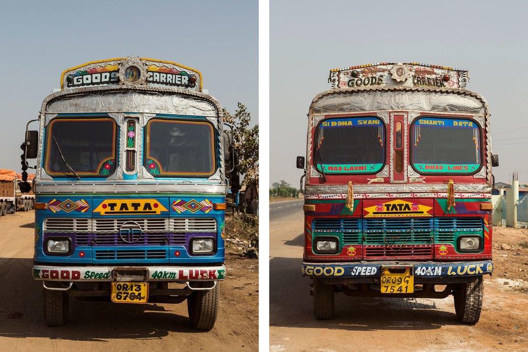 Я и друг мой грузовик: Индийские дальнобойщики и их автомобили. Изображение № 30.