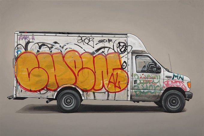 Кевин Сир: Граффити на фургонах как символ города. Изображение № 1.