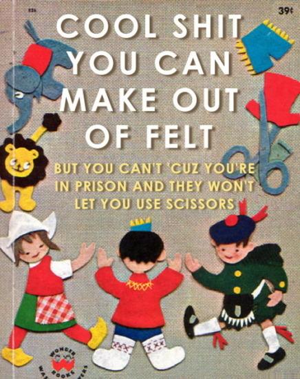 Иллюстратор Боб Стэйк создал пародии на обложки старых детских книжек   . Изображение № 26.