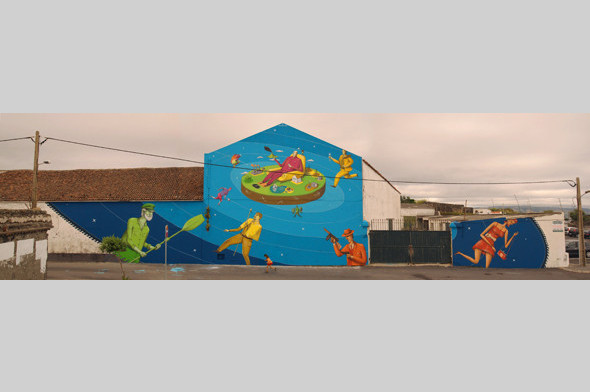 Скетчбук: Участники граффити-дуэта из Киева Interesni Kazki рассказывают о своих лучших работах. Изображение № 31.
